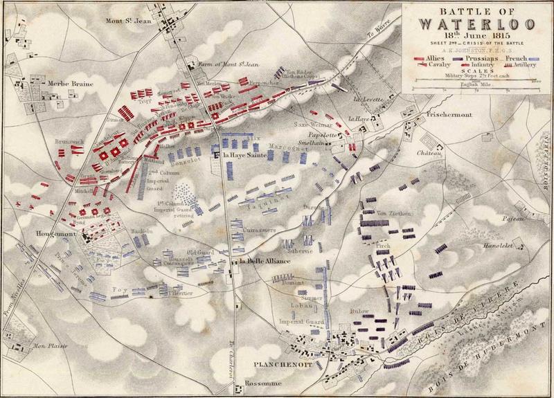 Waterloo.... Morne plaine agitée d'un jour, morte pour toujours. 1815wa10