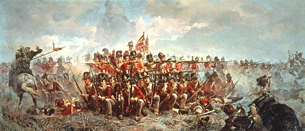 Waterloo.... Morne plaine agitée d'un jour, morte pour toujours. Butler10