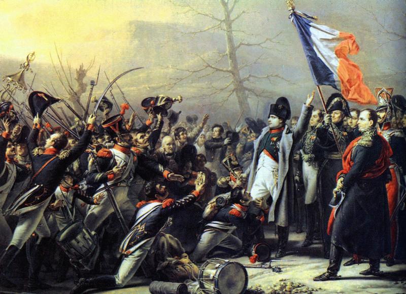 Waterloo.... Morne plaine agitée d'un jour, morte pour toujours. Napole10