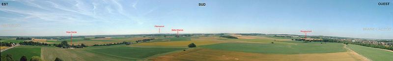 Waterloo.... Morne plaine agitée d'un jour, morte pour toujours. Panora10