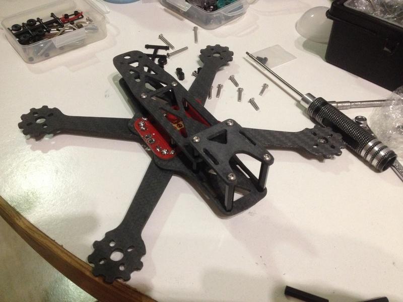 Quadcopter carbone  2016-012