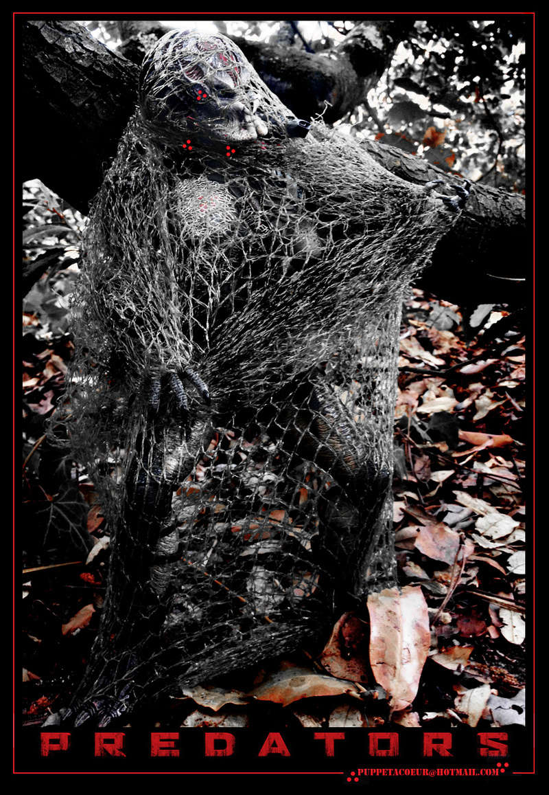 PREDATOR: sculptures de masques, trophées, socles,... 11_net10