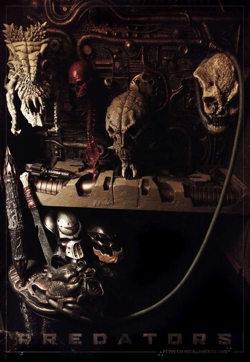 PREDATOR: sculptures de masques, trophées, socles,... 43_net11