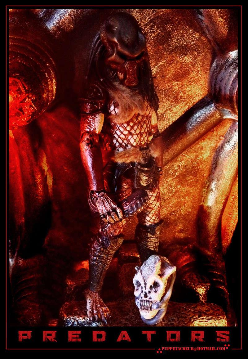 PREDATOR: sculptures de masques, trophées, socles,... 48_net11