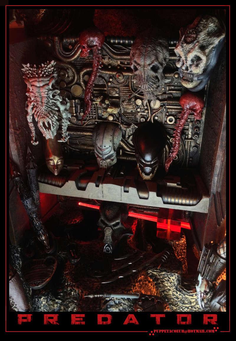 PREDATOR: sculptures de masques, trophées, socles,... 58_net12