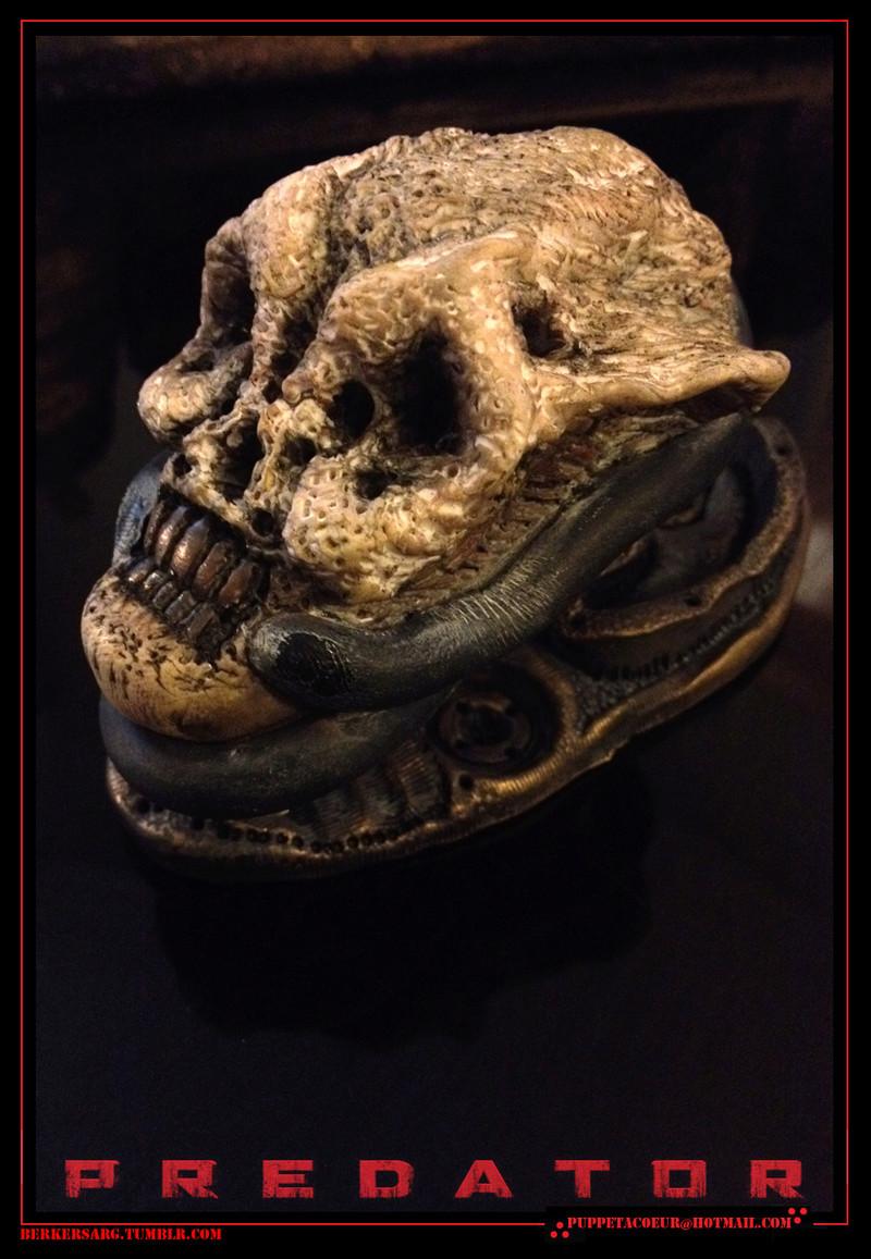 PREDATOR: sculptures de masques, trophées, socles,... 70_net11