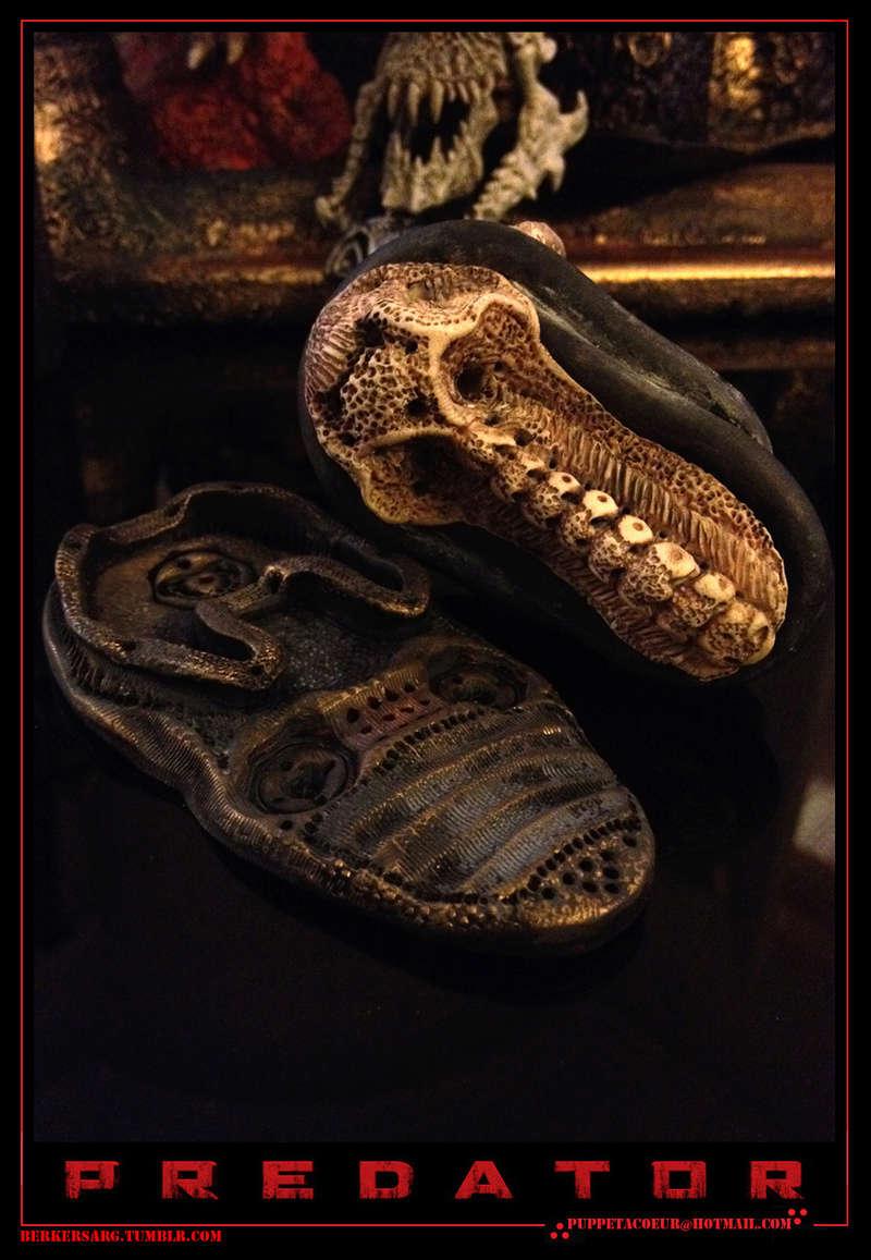 PREDATOR: sculptures de masques, trophées, socles,... 71_net11