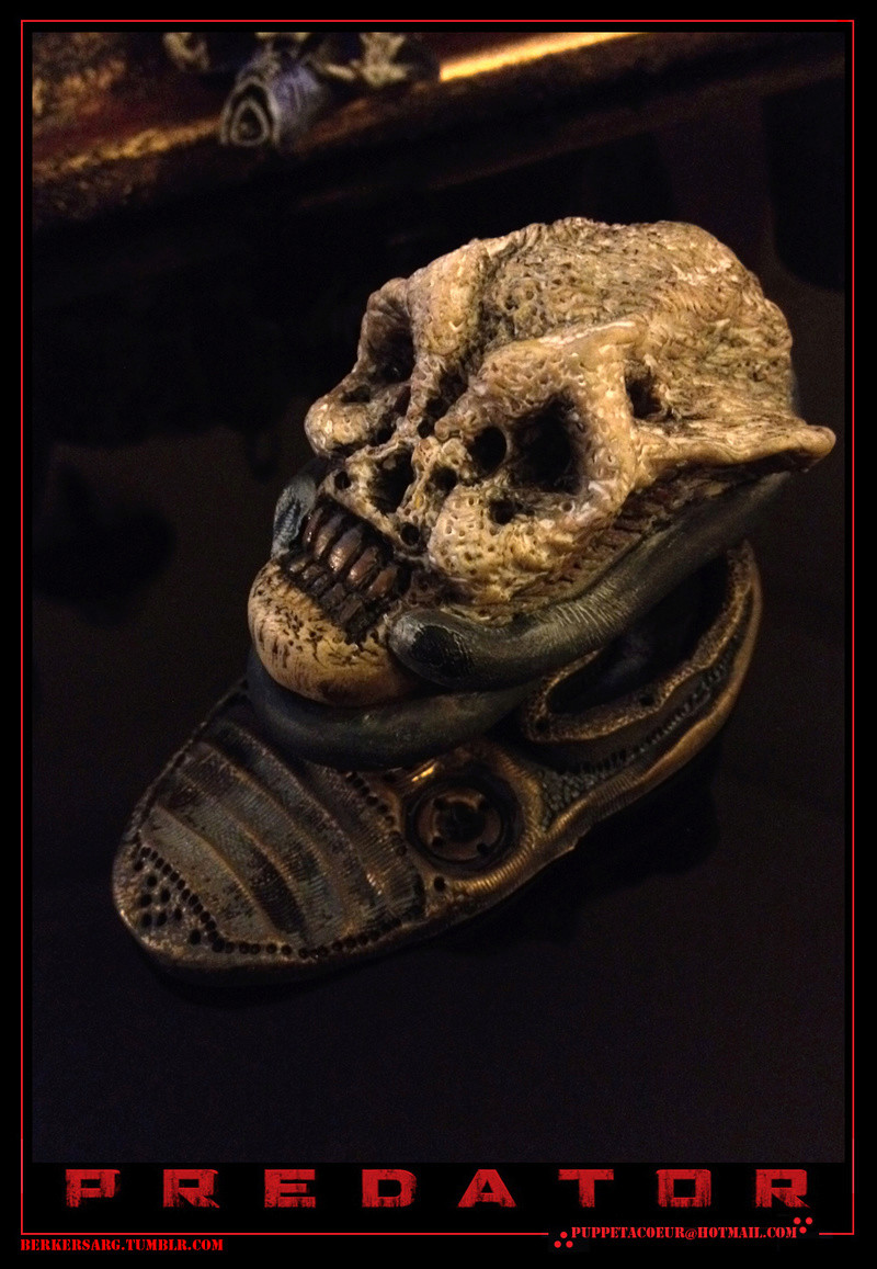 PREDATOR: sculptures de masques, trophées, socles,... 72_net11
