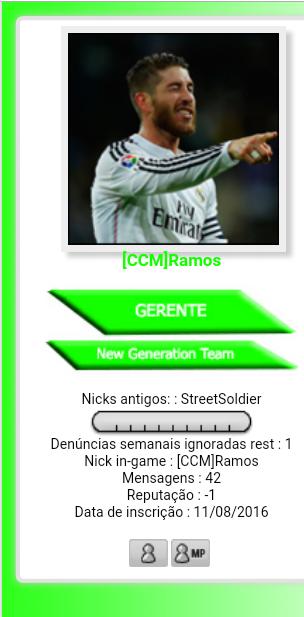 [ Sugestão ] Colocar no perfil das pessoa Nicks Antigos Screen11
