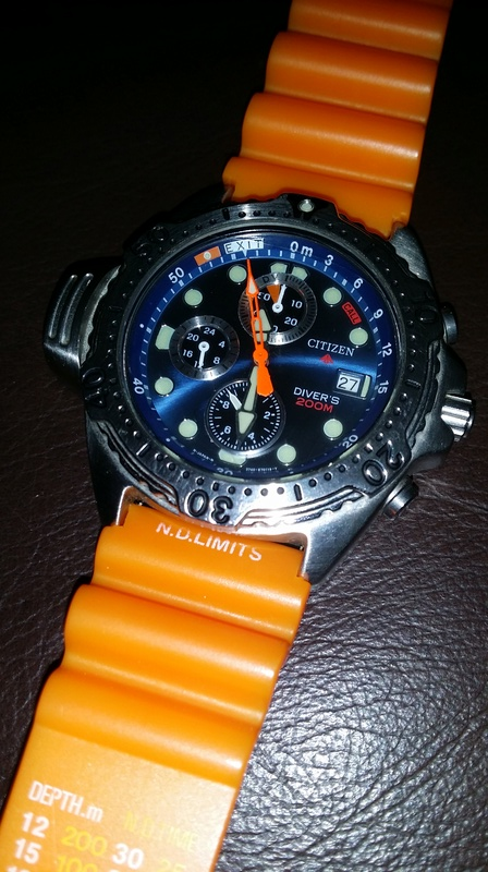 citizen - Citizen Aqualand Promaster 200 divers - AY5000-05L 20160814
