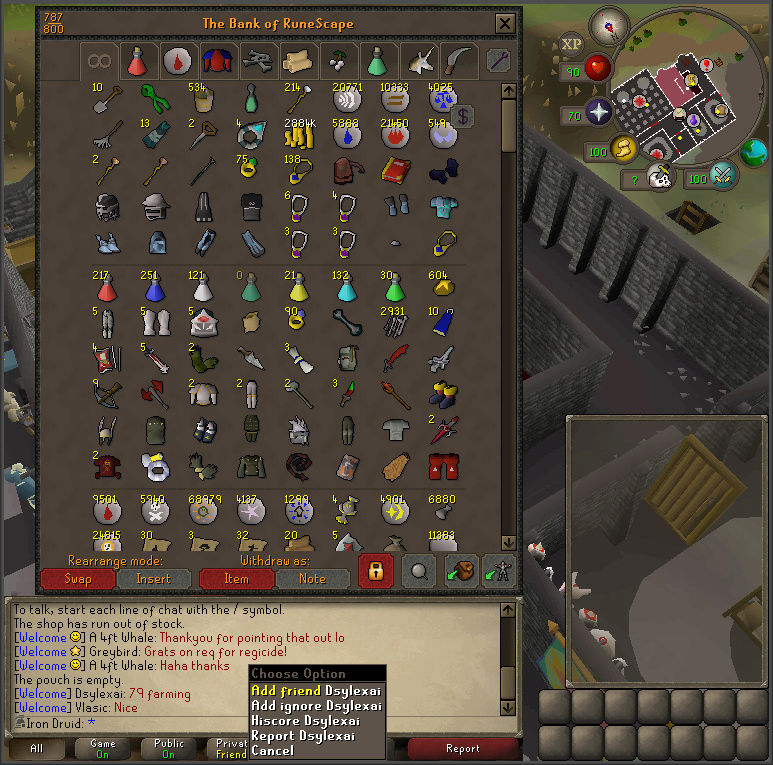 Good Loots and Goals, and Bank - iron Druid  Screen12