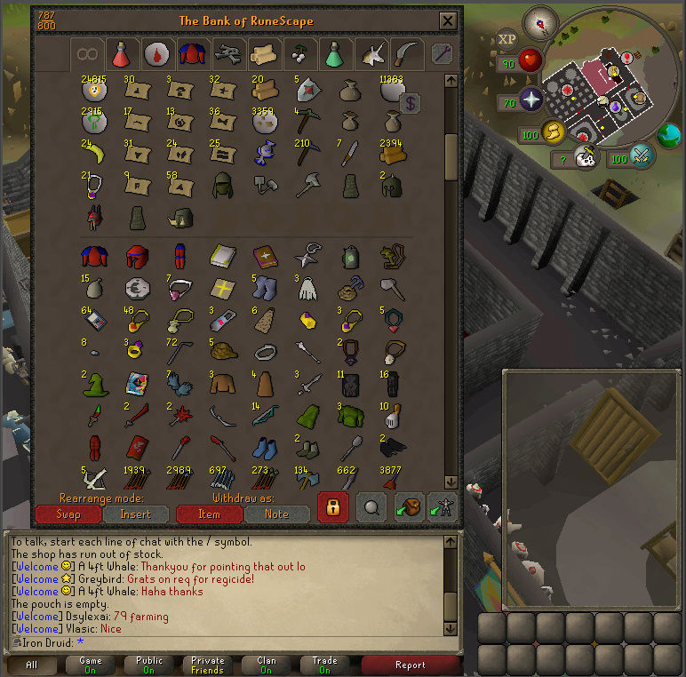 Good Loots and Goals, and Bank - iron Druid  Screen13
