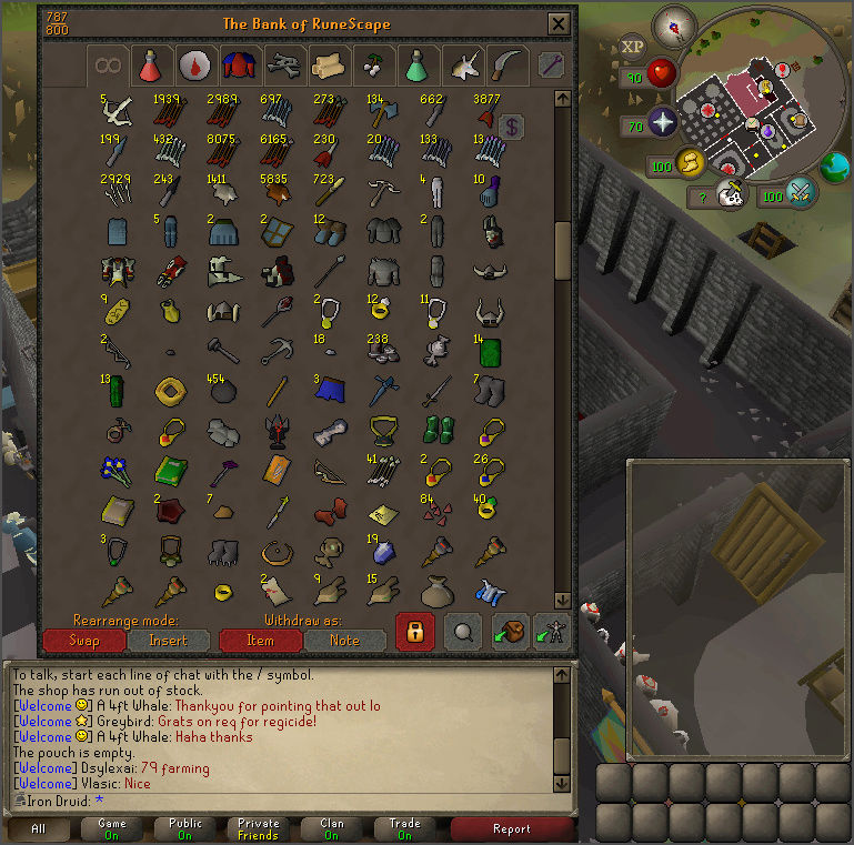 Good Loots and Goals, and Bank - iron Druid  Screen14