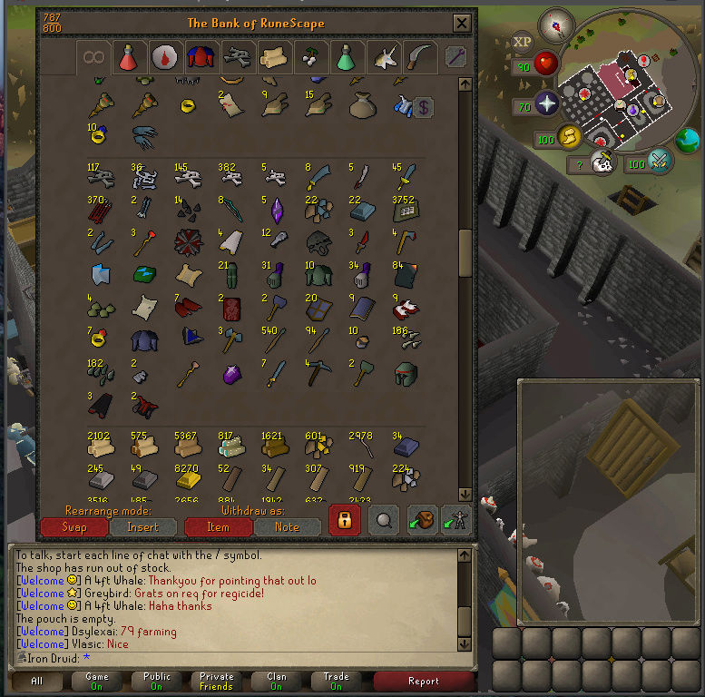 Good Loots and Goals, and Bank - iron Druid  Screen15