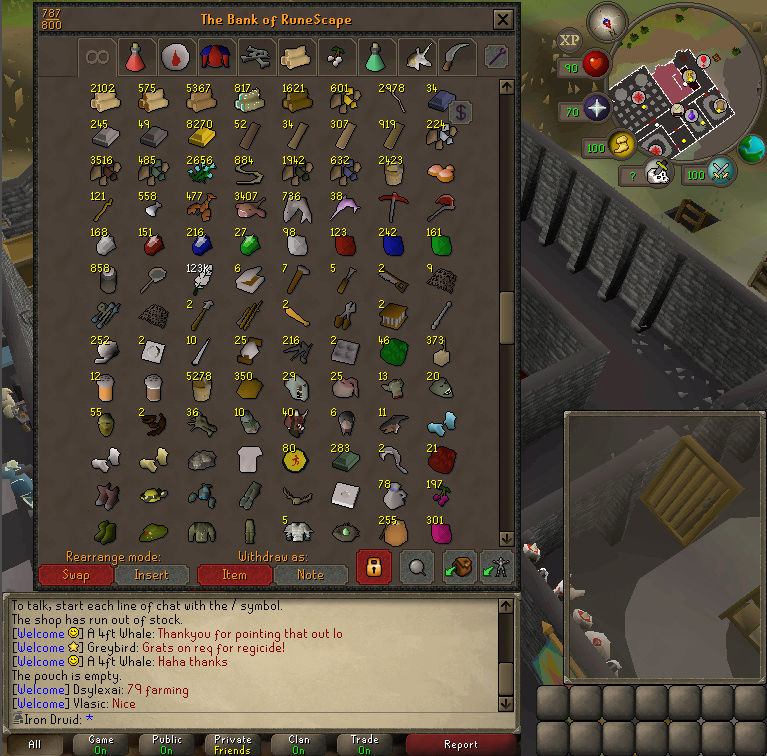 Good Loots and Goals, and Bank - iron Druid  Screen16