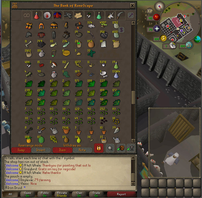 Good Loots and Goals, and Bank - iron Druid  Screen17