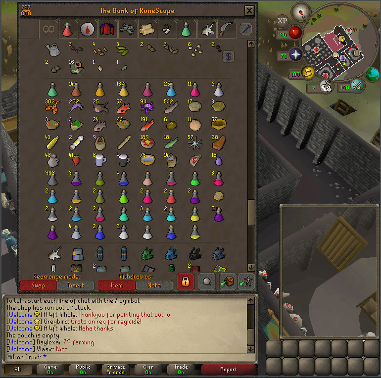 Good Loots and Goals, and Bank - iron Druid  Screen18