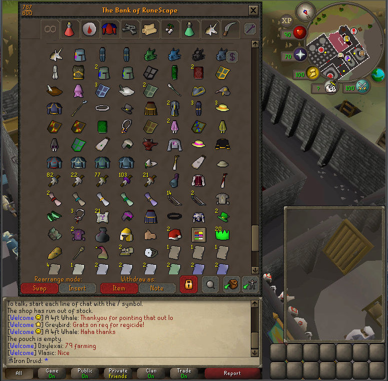 Good Loots and Goals, and Bank - iron Druid  Screen19
