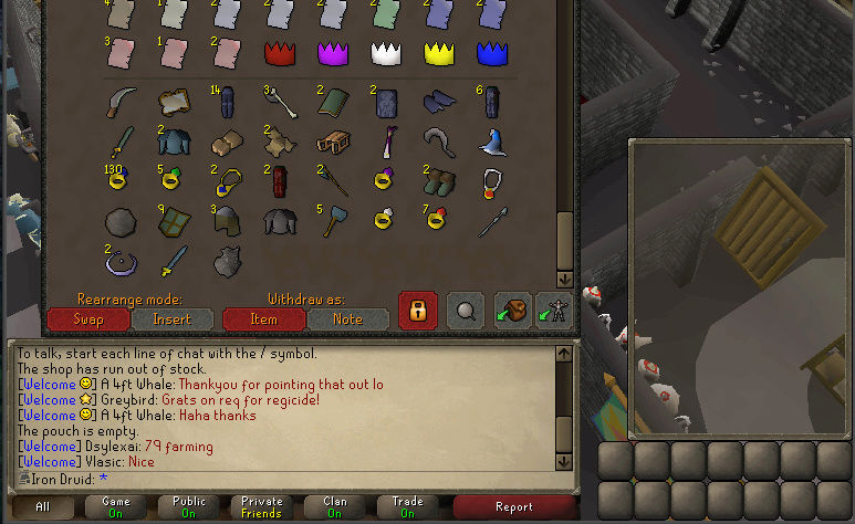 Good Loots and Goals, and Bank - iron Druid  Screen20