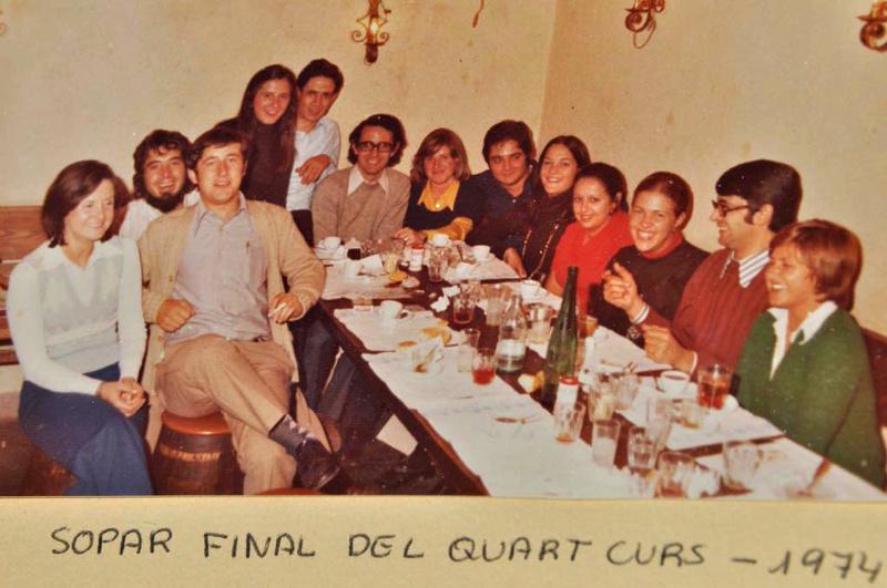 Fotografías 2. Actividades extra- académicas 197410
