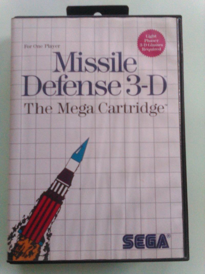 jeux master system 3D M110