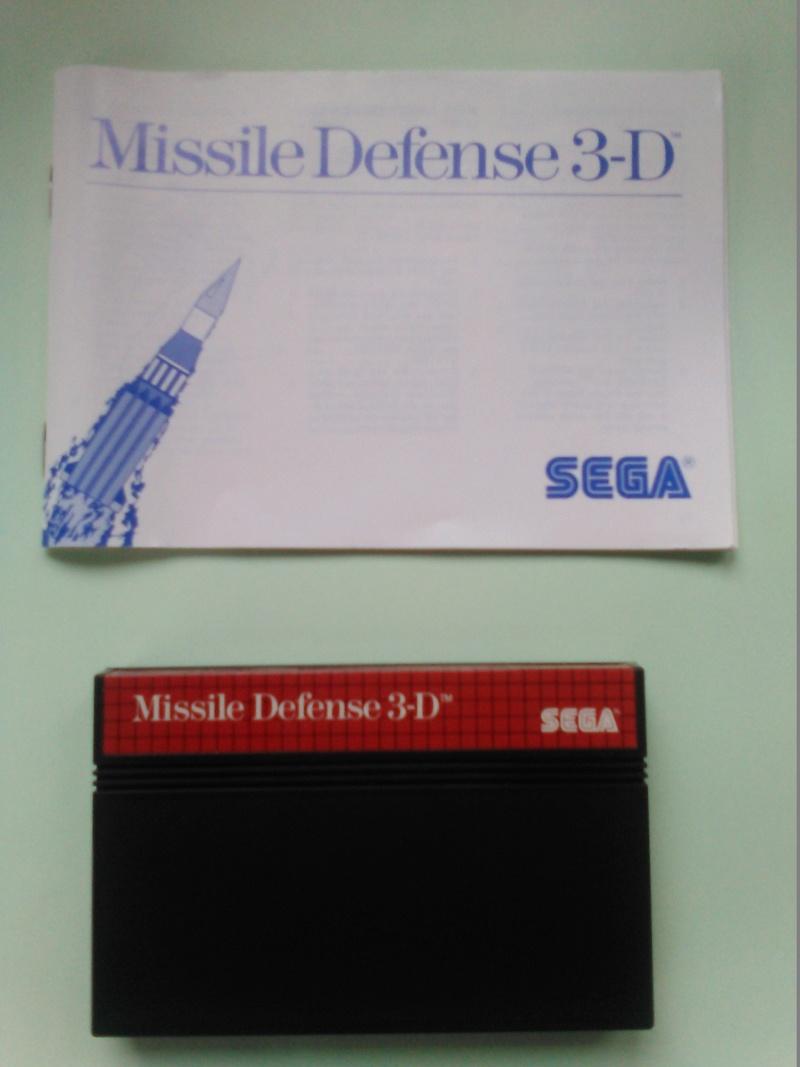 jeux master system 3D M210