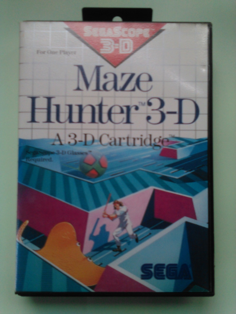 jeux master system 3D Mh110