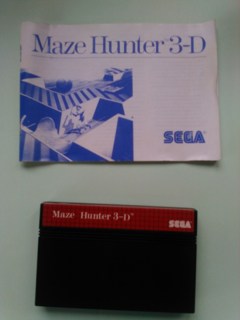 jeux master system 3D Mh210