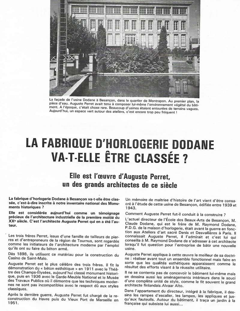 L'horlogerie et l'immobilier à Besançon - Page 4 Dodane11
