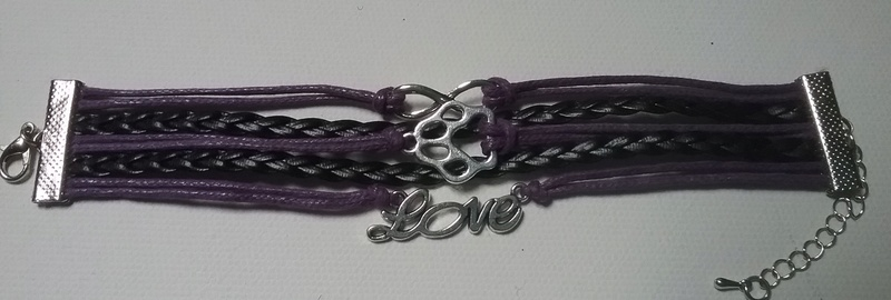 Patte amour infinity / Paw love infinity Bracelet  20161011