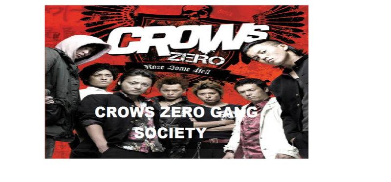 "[ CROWS ZERO ] ""GANG"" (( CREATION )) Sad10"
