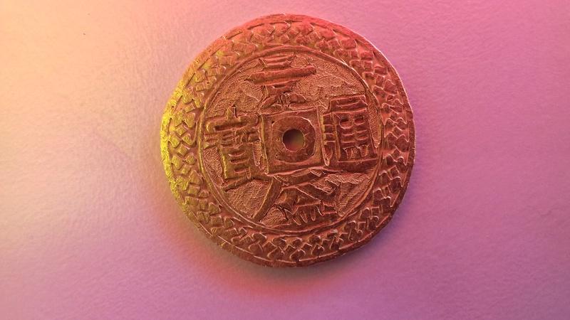 Une monnaie or mystérieuse 20160911