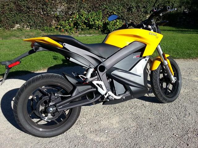moto ZERO S moto électrique 20160910