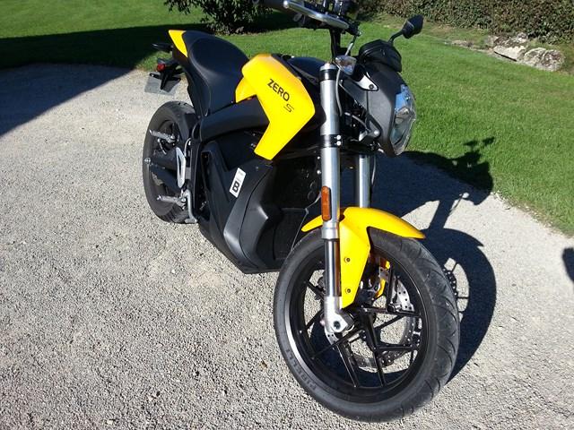 moto ZERO S moto électrique 20160911