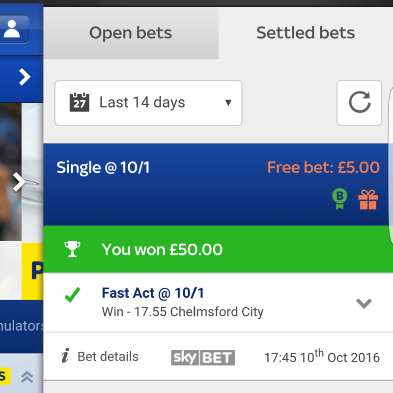 The Racing and Football Betting Thread. - Page 2 20161010