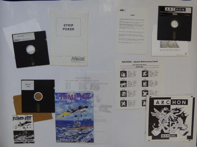 [ESTIM]  Disquettes 5'1/4 pour Atari 610