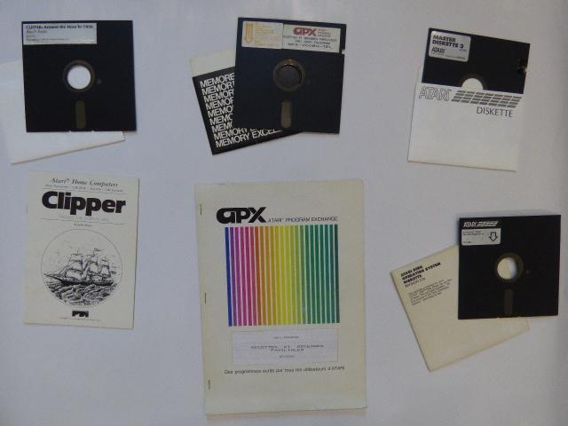 [ESTIM]  Disquettes 5'1/4 pour Atari 910