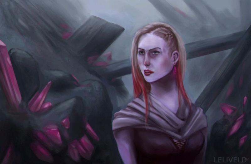 Illustrations de Jari (aka Odilion)  Portra14