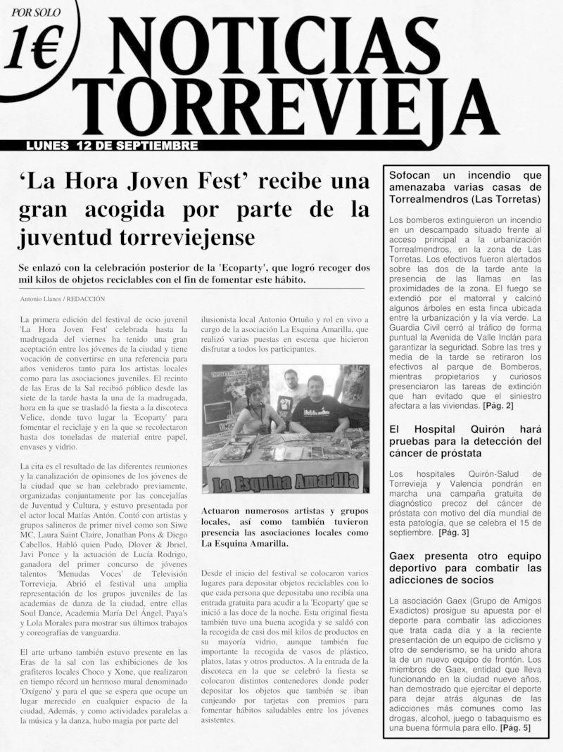 'Noticias Torrevieja' - 12/09/2016 Period11