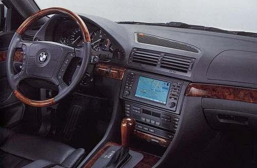 Autoradio GPS BMW  E38_1610