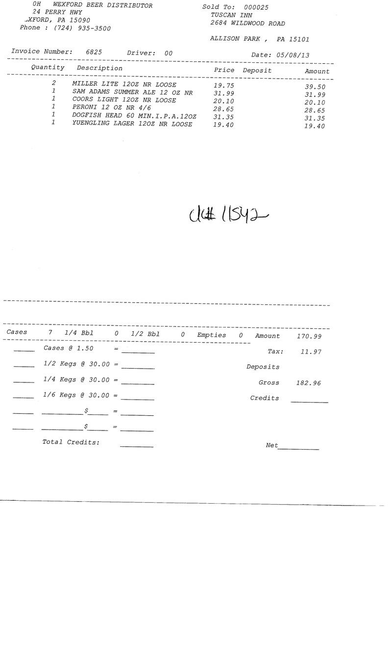 Invoices 68xx 68xx0010