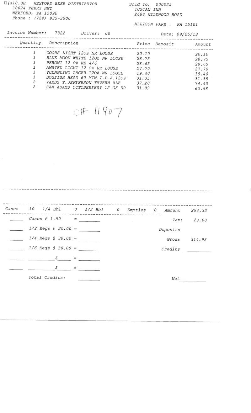 Invoices 73xx 73xx0010