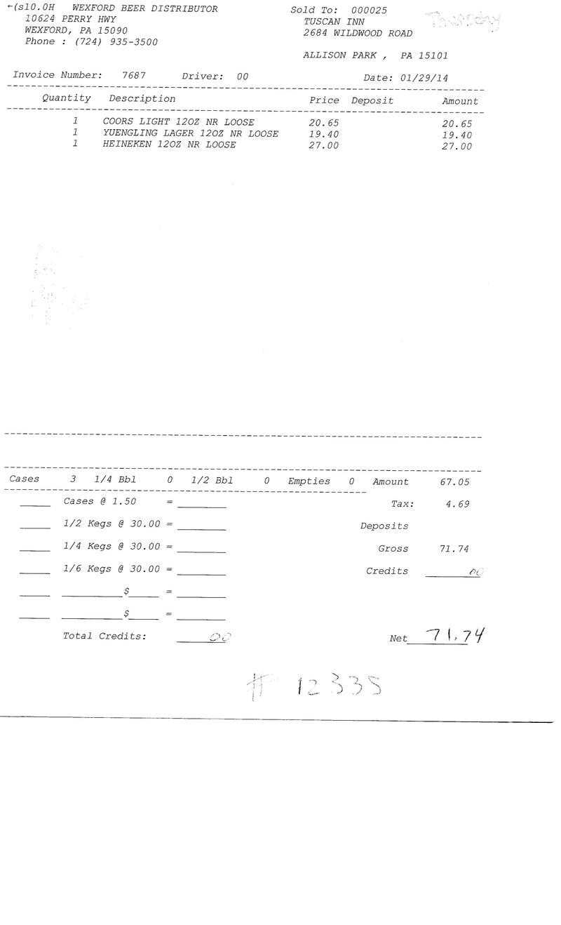 Invoices 76xx 76xx10