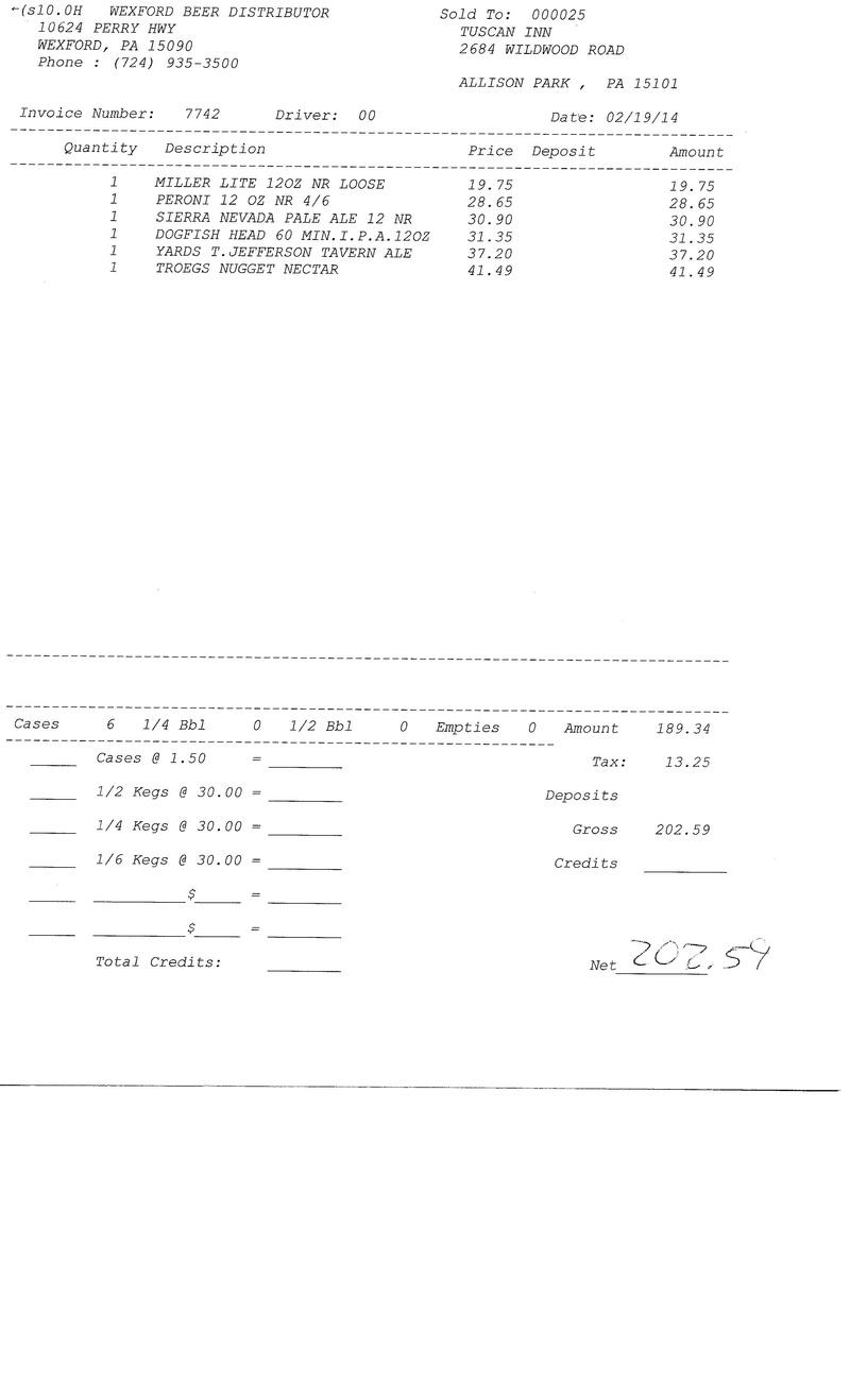 Invoices 77xx 77xx0011