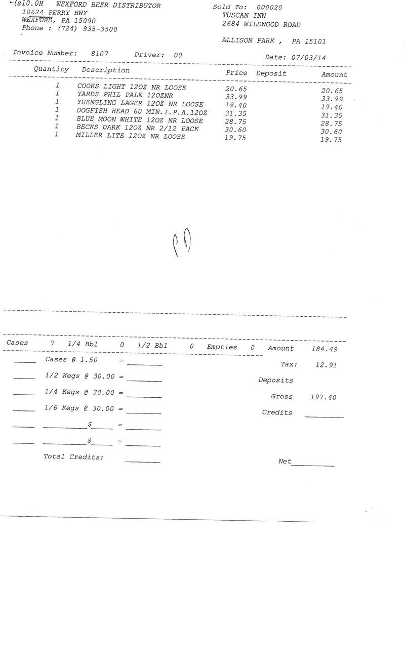 Invoices 81xx 81xx0010
