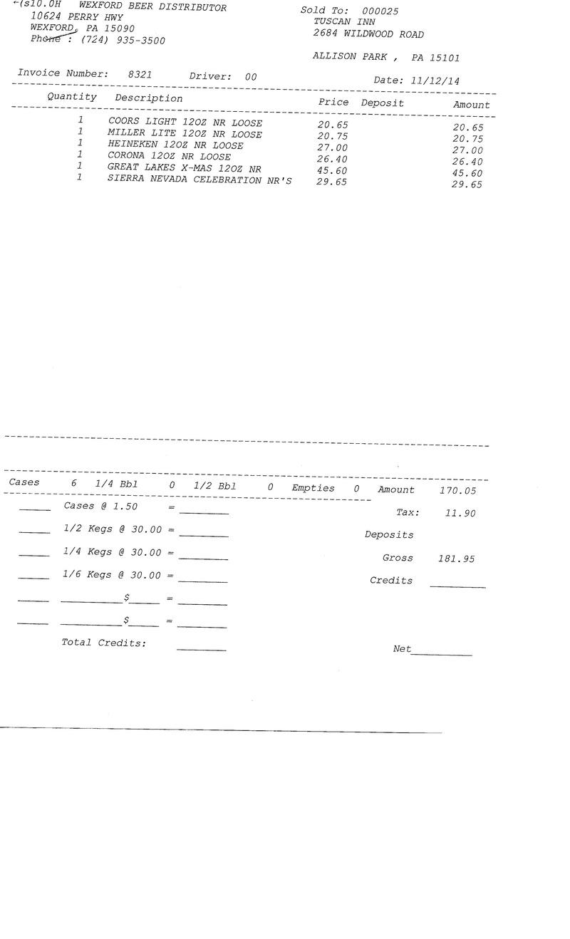 Invoices 83xx 83xx0010