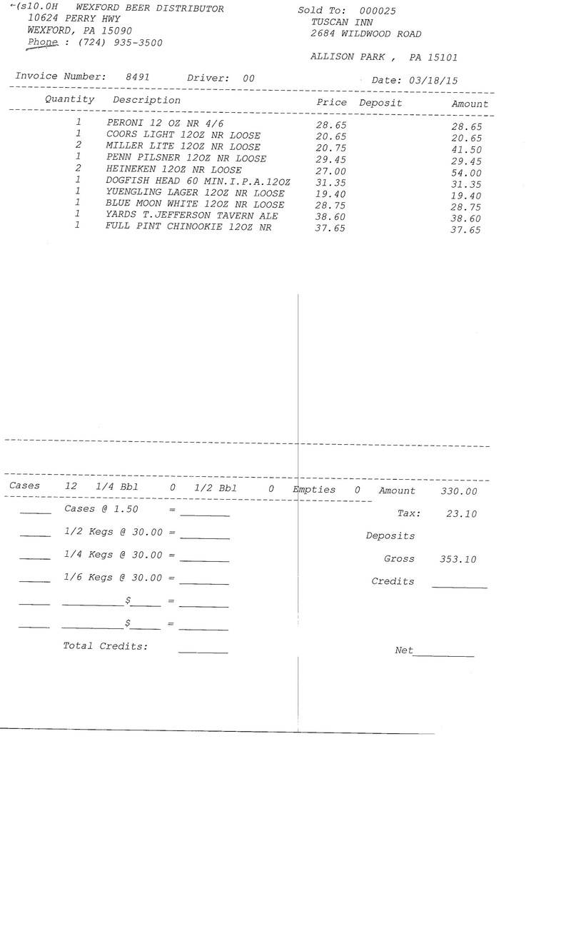 invoice 84xx 84xx0011