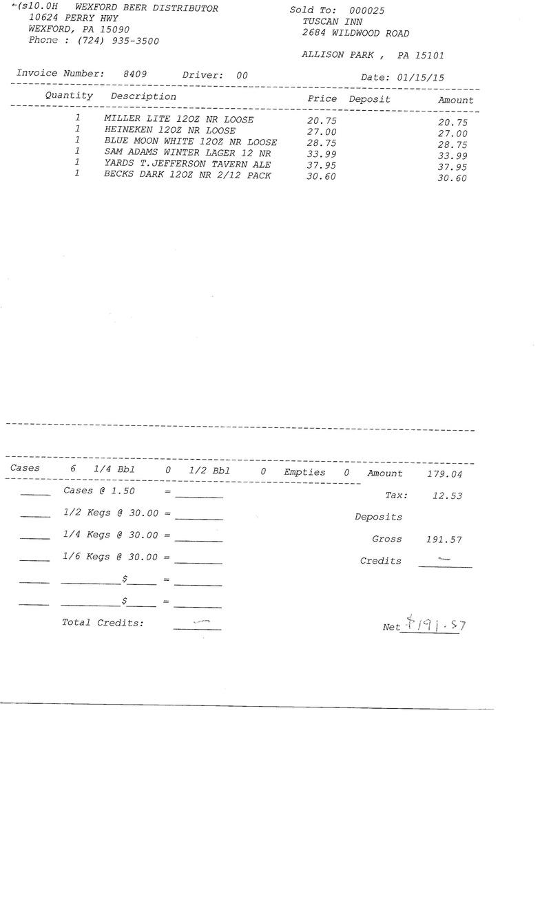 invoice 84xx 84xx0015
