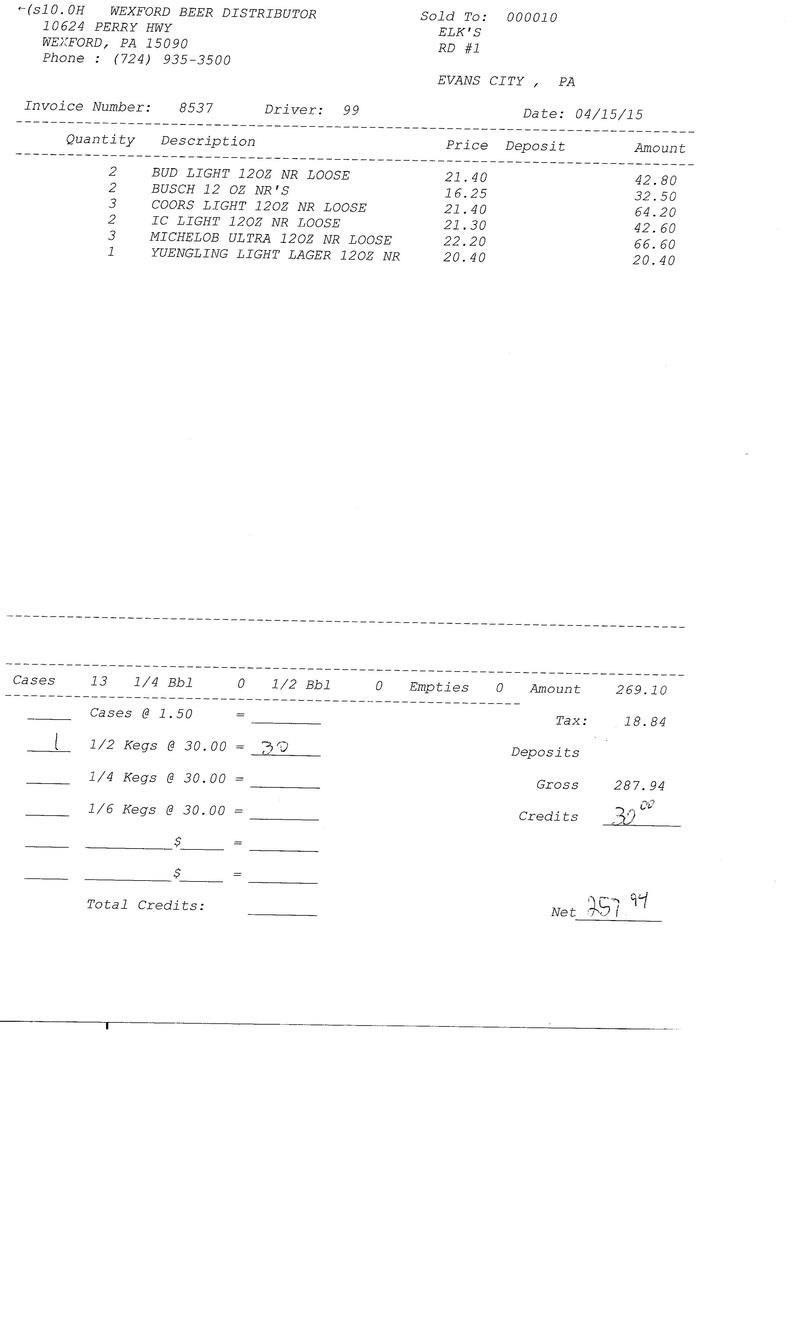 invoices 85xx 85xx0011