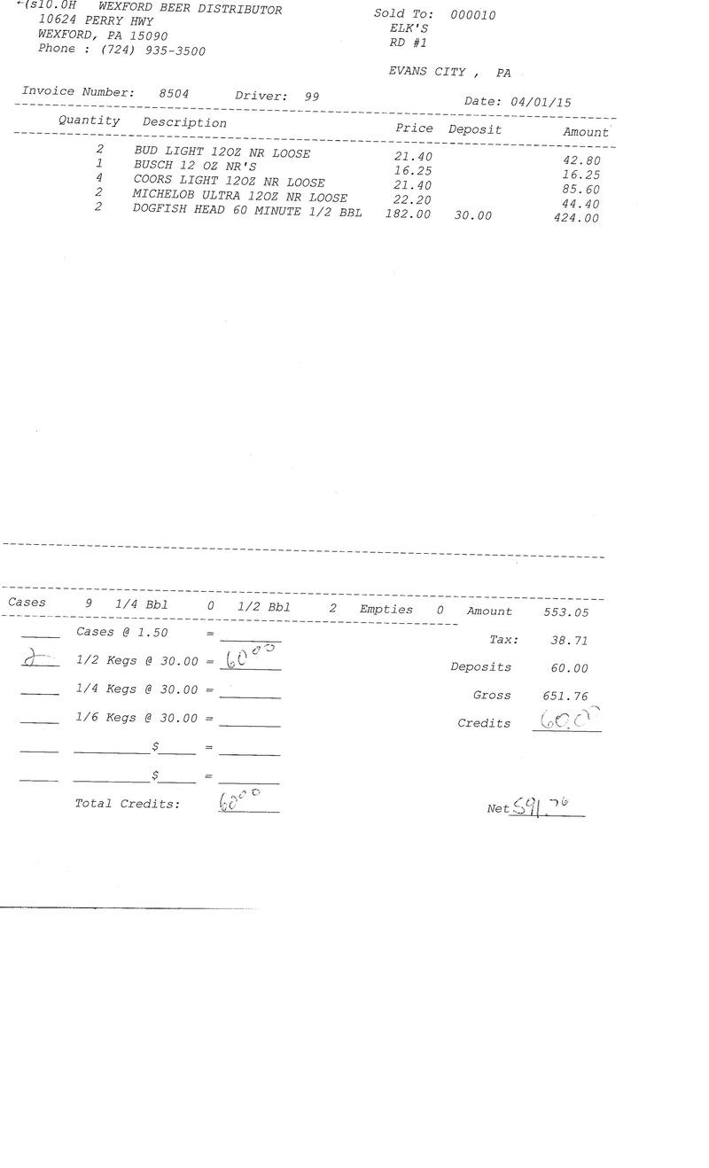 invoices 85xx 85xx0012